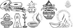 Wedding symbol font. ~ Beautiful Hindi Fonts