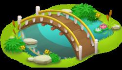 Bridge and Pond PNG Clip Art - Best WEB Clipart