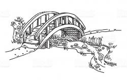 bridge clipart black and white 5 | Clipart Station