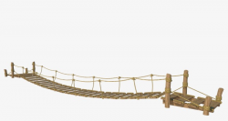 Suspension Bridge, Wood, Natural PNG Image and Clipart for Free Download