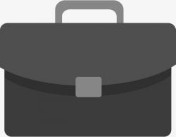 Black Briefcase Vector Diagram, Bags & Accessories, Bag, Knapsack ...