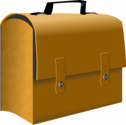 Leather Business Suitcase Clip Art at Clker.com - vector clip art ...