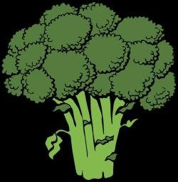 vegetable clipart free | Broccoli clip art - vector clip art online ...