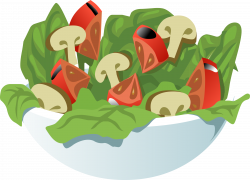 Une salade | Vocabulaire - Cuisine - Manger et boire | Pinterest ...