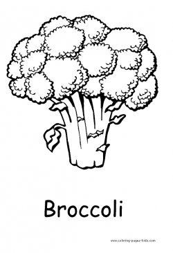 Broccoli Drawing at GetDrawings.com | Free for personal use Broccoli ...