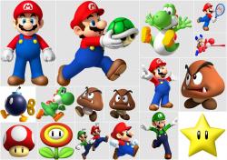 Super Mario Bros Clip Art. - Oh My Fiesta! for Geeks