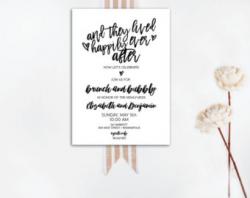 Eat Drink Recover Wedding Brunch Invitation Instant
