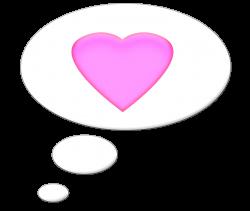 Talk Bubble Heart Clipart - Karen Cookie Jar