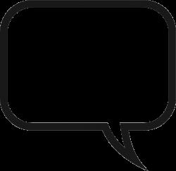 Speech Bubble Transparent Clipart - 4237 - TransparentPNG