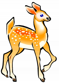 28+ Collection of Deer And Fawn Clipart | High quality, free ...