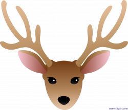 Pictures: Clipart Of Deer Head, - DRAWING ART GALLERY