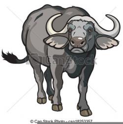 Cape Buffalo Clipart | Free Images at Clker.com - vector clip art ...