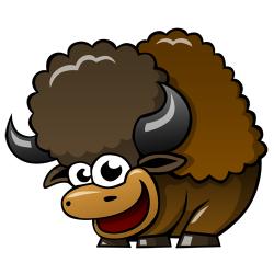 Free Cartoon Buffalo, Download Free Clip Art, Free Clip Art ...