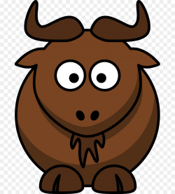 Water buffalo Cattle American bison Ox - Cartoon Sheep Clipart png ...