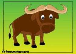Free Cartoon Buffalo Clipart and Vector Graphics - Clipart.me