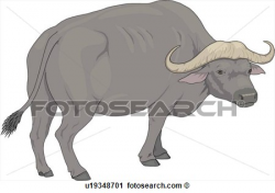 Clipart - Water Buffalo .   Clipart Panda - Free Clipart Images