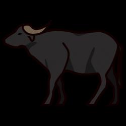 Water Buffalo Emoji for Facebook, Email & SMS   ID#: 12443   Emoji.co.uk