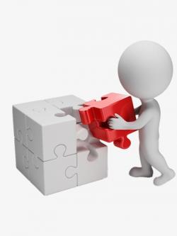 3d Villain, Puzzle, Rubik's Cube, Building Blocks PNG Image and ...