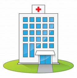 Medical Building Clipart