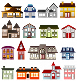Free Clipart: Simple Houses | Architecture | Viscious-Speed ...