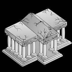 Clipart - RPG map symbols: University