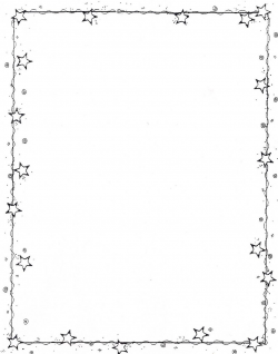 star border | Clipart für ABs for worksheets | Pinterest | Journal ...