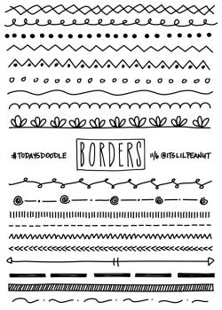 borders-700.png (700×980) | City Paper | Pinterest | Bullet journals ...