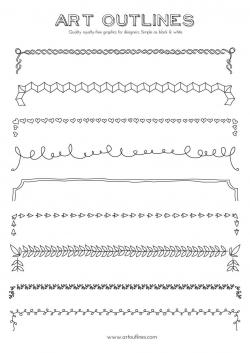 Outlines | inspo | Pinterest | Outlines, Bullet journals and Bullet