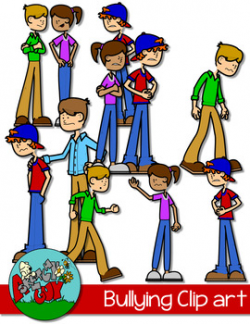 Bully Clipart Teaching Resources | Teachers Pay Teachers