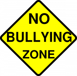 No Bullying Zone Clip Art at Clker.com - vector clip art online ...