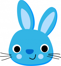 Bunny Face Free Clipart