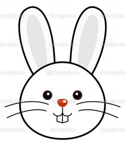 Fresh Bunny Face Outline Head Clipart 1 Jpg 2400 3300 School ...