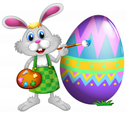 Easter clip art bunny swimming – Christmas Imagess Club