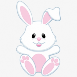 Easter Bunny Clipart Black And White - Clip Art #1510356 ...