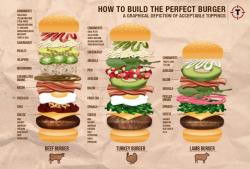 26 best Burger Infographics images on Pinterest   Hamburgers ...
