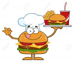 Hamburger clipart platter - Pencil and in color hamburger clipart ...