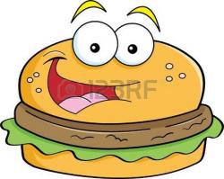 Burger Clipart Face #2679861