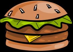 Chili Burger Clipart