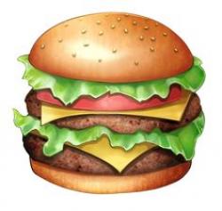 hamburger, burger PNG image Mac burger | Fun in the Sun | Pinterest ...