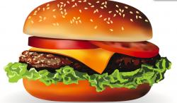 burger.png (1241×727) | Myndir af mat | Pinterest | Clip art, Food ...