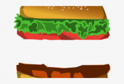 Burger Clipart Logo - Burger Clip Art - Free Transparent PNG ...