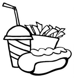 Soda Clipart Black And White | Clipart Panda - Free Clipart Images