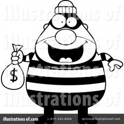 Burglar Clipart #1128853 - Illustration by Cory Thoman