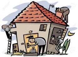 Home Burglary Clipart