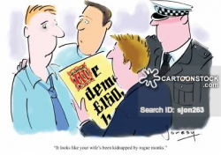 Kidnapper Cartoons and Comics - funny pictures from CartoonStock