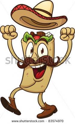 Mexican Burrito Cartoons Clipart - Free Clip Art Images | biz ...