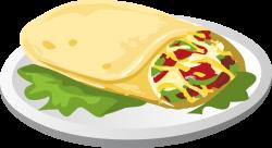 Clipart - Food Kind Breakfurst Burrito