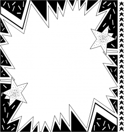 Burst | Free Stock Photo | Illustration of blank star background ...
