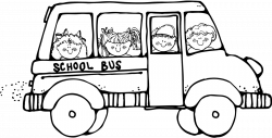 School Bus Safety Coloring Page | Clipart Panda - Free Clipart Images
