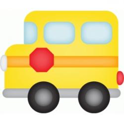 Silhouette Design Store - View Design #64655: calendar icon - bus ...